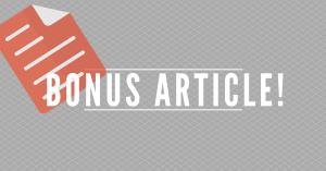 Bonus article