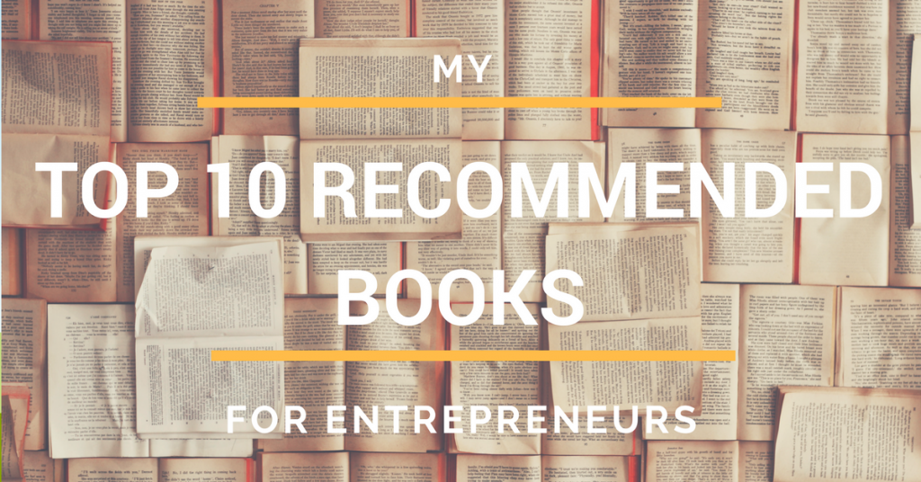 top 10 recommended books for entrepreneurs